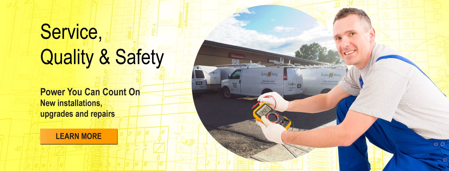 Service, Quality & Safety | Learn More